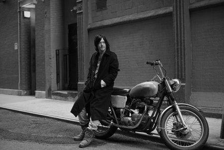 Norman Reedus by Eric Guillemain for L'Uomo Vogue