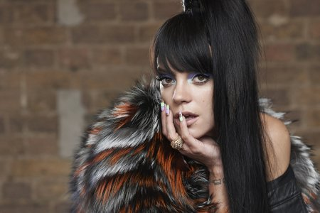 Lily Allen by Eric Guillemain