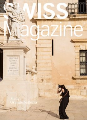 Pierluigi Macor: Swiss International Airlines - Swiss Magazine - Sicily